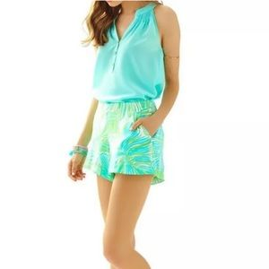 Lilly Pulitzer Palm Beach Print Jeannie Shorts